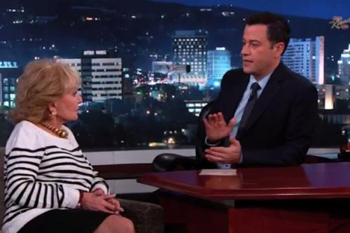 Jimmy Kimmel Asks Barbara Walters What We All Want to Know: 'Who Is Your Least Favorite 'View' Co-Host? (Video)