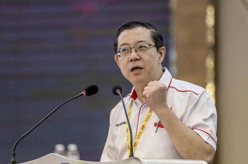 In June last year, Finance Minister Lim Guan Eng revealed that the government had paid RM8.3 billion for the two projects worth RM9.4 billion despite only completing 13 per cent of the work. — Picture by Firdaus Latif