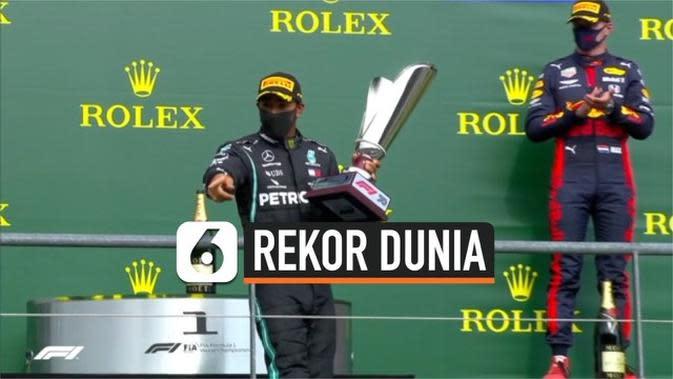 VIDEO: Kemenangan Lewis Hamilton Dekati Rekor Dunia Michael Schumacker