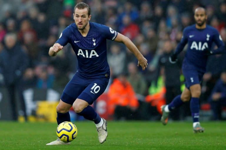 Tottenham striker Harry Kane is ready to resume the Premier League season