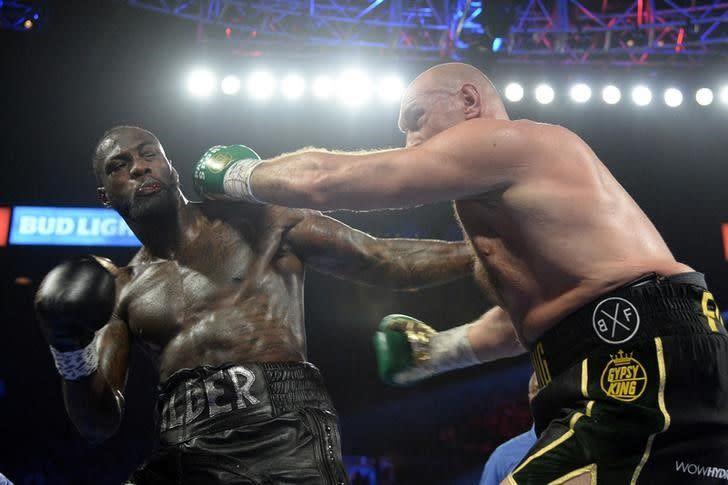 Wilder inginkan tanding ulang dengan Fury
