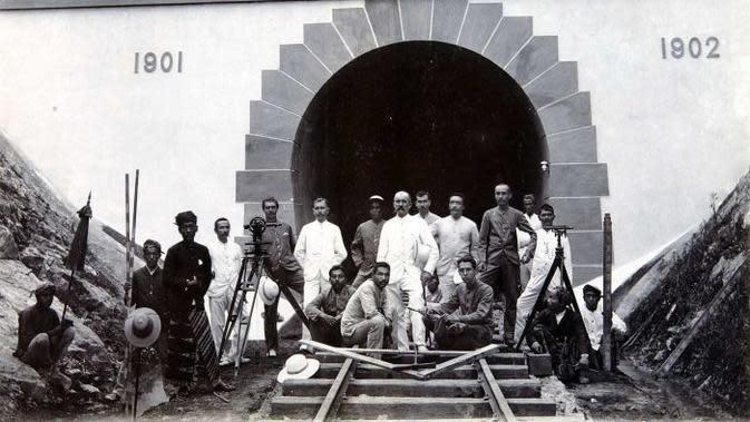 Proyek Terowongan Mrawan