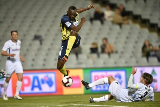 The Olympic champion has been on trial with the A-League side to fulfil his dream of becoming a professional footballer