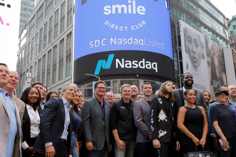 SmileDirectClub sell-off gives short sellers reason to grin