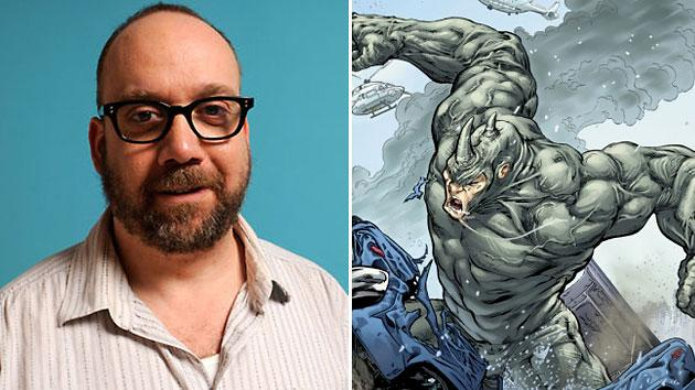 Paul Giamatti gears up for his dream job: The Rhino in 'Spider-Man 2′