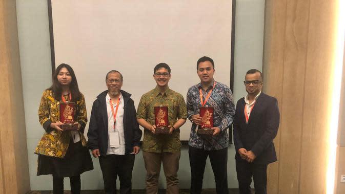 Pekerja Pertamina EP meraih penghargaan di ajang Joint Convention Yogyakarta 2019. Dok Pertamina EP