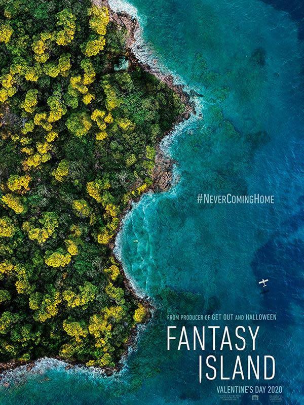 Poster film Fanstasy Island. (Foto: Dok. IMDb/ Columbia Pictures)