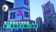 紫光集團被申請破產,曾一度揚言收購台積電