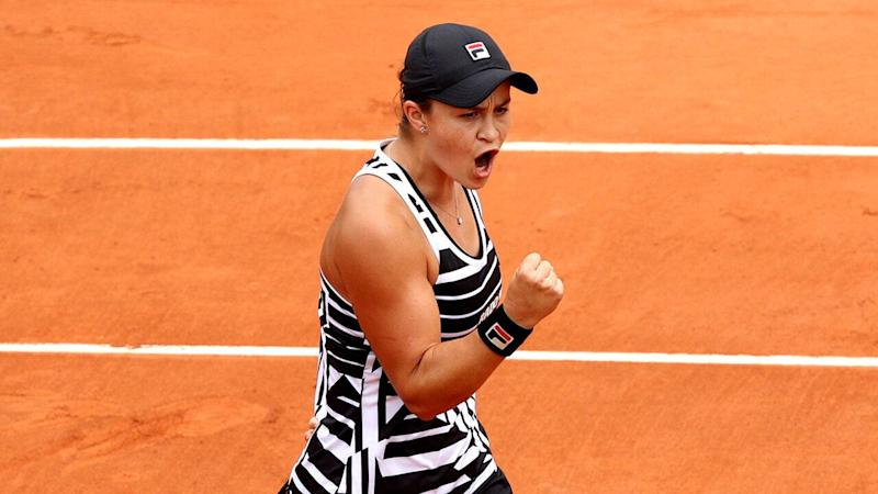 Barty battles past Collins to claim French Open third round spot