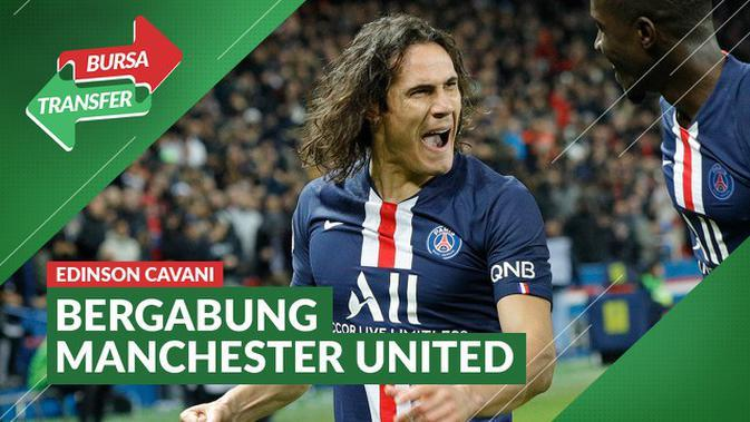 MOTION GRAFIS: 10 Bintang yang Pindah Di Akhir Bursa Transfer Musim Ini, Edinson Cavani ke Manchester United