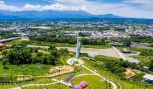 自然賞景旅遊點 嘉義市綠映水漾公園啟用