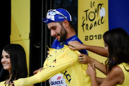 Fernando Gaviria claims first stage honours