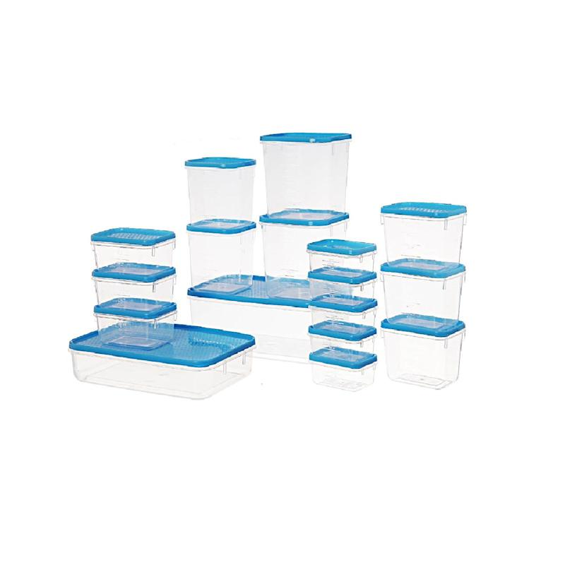 17-piece plastic container set from bunnings warehouse