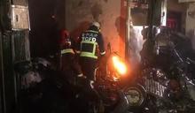 東海氣爆4死!氣爆火球噴對面住戶 大街燒紅如末日