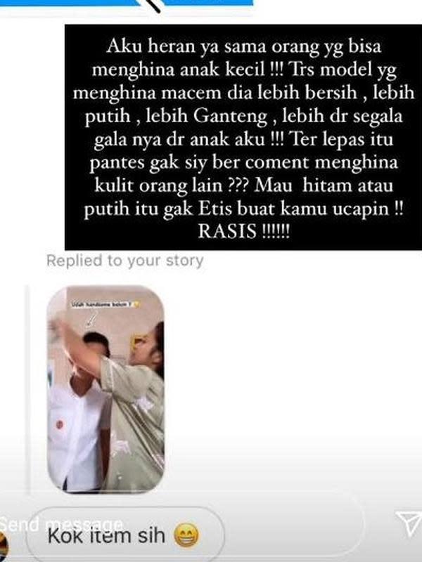 Ungkapan marah Bunga Zainal. (Instagram.com/bungazainal05)