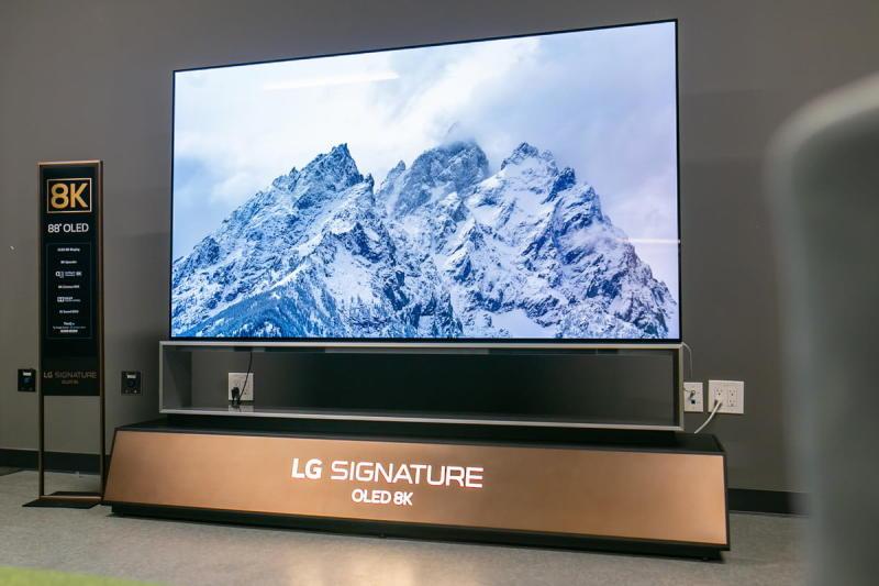 LG Z9 88-inch 8K HDR OLED TV