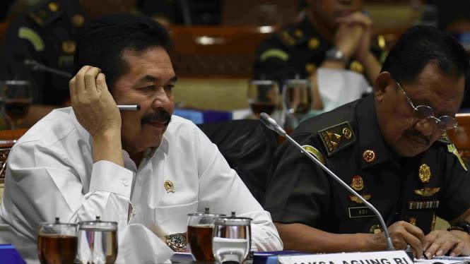 Jaksa Agung Tak Peduli Namanya Disebut dalam Dakwaan Pinangki