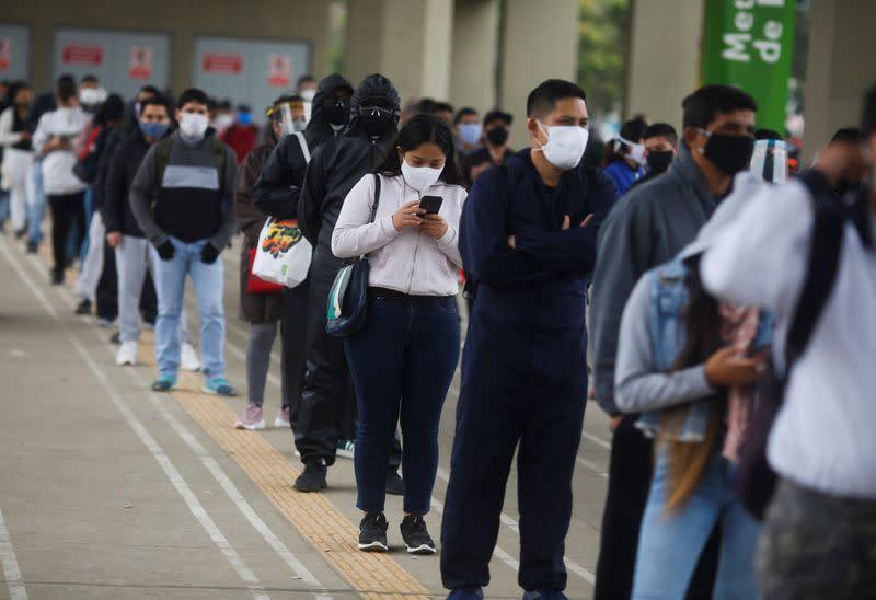 Peru coronavirus cases top 300,000 as Andean nation eases lockdown