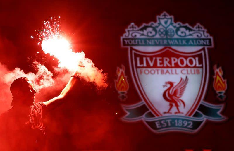 Sepak Bola: Liverpool raih gelar Liga Premier dengan tujuh pertandingan tersisa