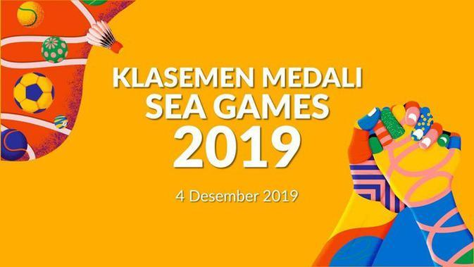 VIDEO: Klasemen Medali SEA Games 2019, Indonesia Masih Tertahan di Posisi 4
