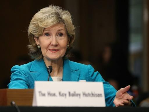 """The 29 members of the US-led alliance delivered a """"strong, unified message"""" to Russia,�US Ambassador to NATO Kay Bailey Hutchison said, to end its interference in Ukraine and drop its campaign of disinformation and cyber attacks"""