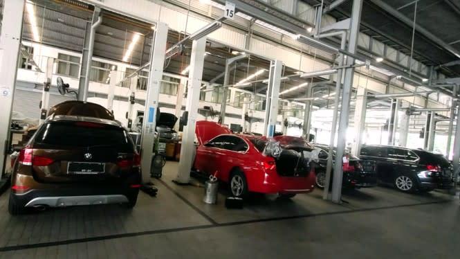 Ada Alat Canggih di Diler BMW Astra