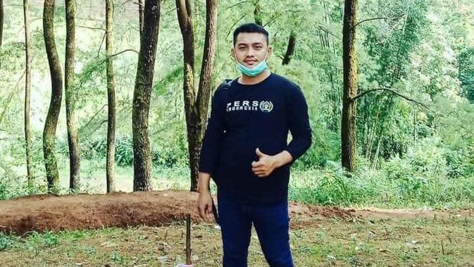 Demas Laira wartawan yang diduga menjadi korban pembunuhan di Mamuju Tangah (Foto: Liputan6.com/Istimewa)
