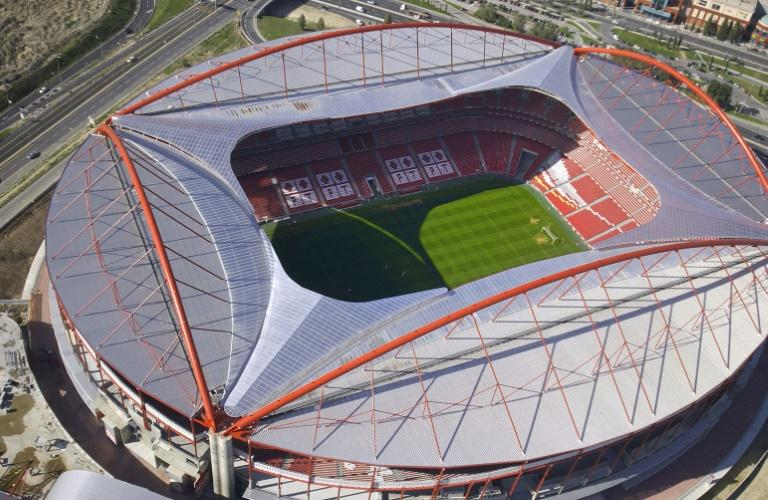 The Estadio da Luz in Lisbon, where this season's Champions League final is due to be played