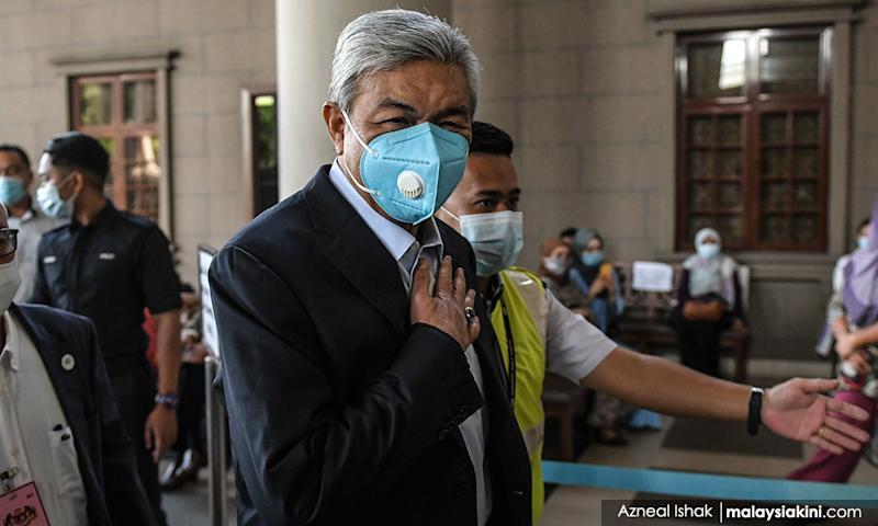 Zahid graft trial: Company director says RM447k cheque was for protection money