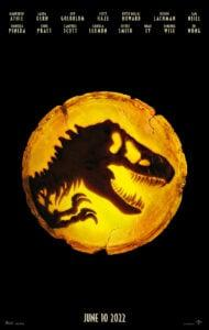 Jurassic World: Dominion teaser poster