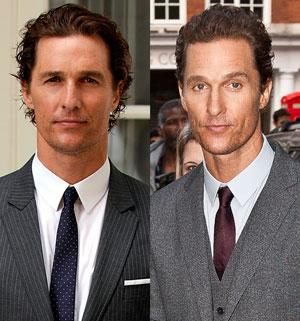 McConaughey slims down for role