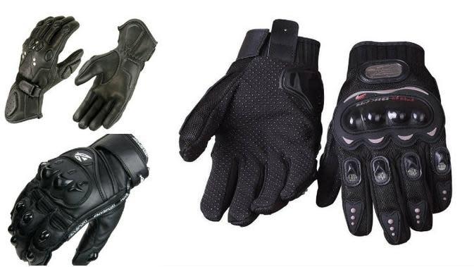 Empat Manfaat Mengenakan Sarung Tangan Saat Mengendarai Motor