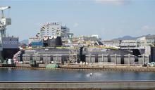 日海自「大鯨號」柴電潛艦下水