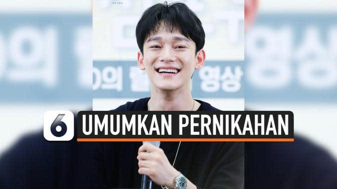 VIDEO: Kekasih Hamil, Chen EXO Umumkan Pernikahan