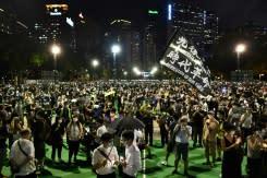 Satu tahun Hong Kong 'memanas', tapi demonstran dalam posisi tidak diuntungkan