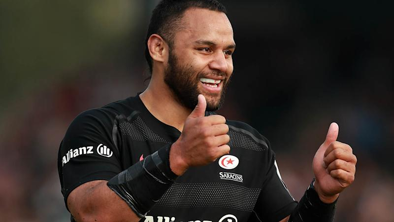 Booing of Vunipola 'unexpected' says Saracens boss McCall