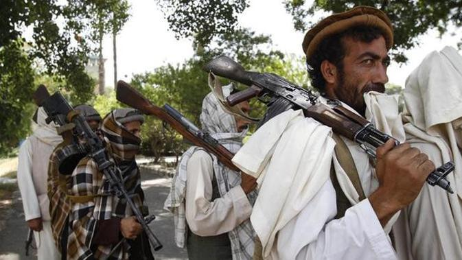 Pasukan Taliban (AP)
