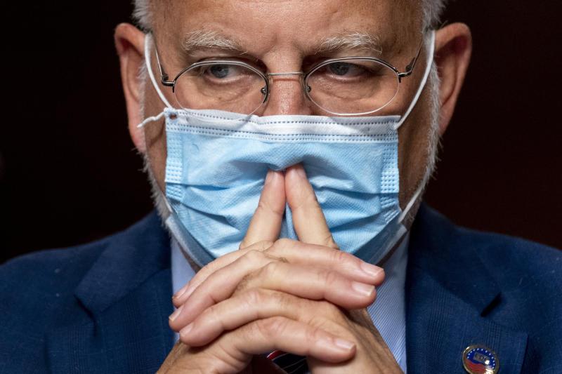 Virus Outbreak Milestone Politics