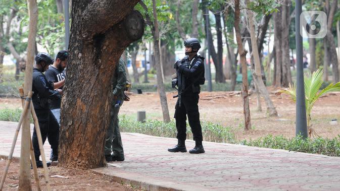 Polisi Tingkatkan Patroli di Monas Usai Ledakan Granat Asap
