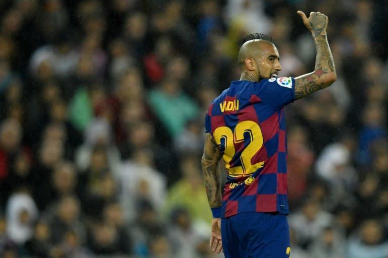 Vidal declares Barca 'best team in the world' ahead of Bayern test