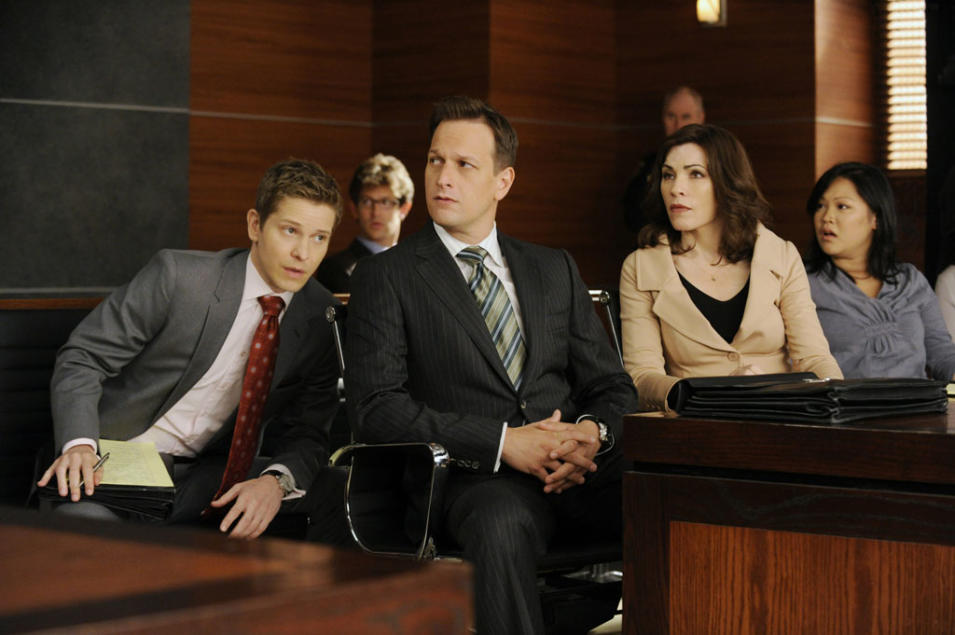 """The Good Wife"" -- ""Two Girls, One Code"""