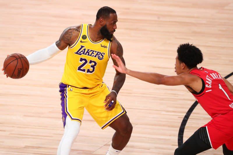 Lakers atasi Blazers 118-88, kedudukan jadi imbang 1-1