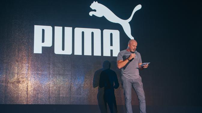 Philippe Le-Bretton, Southeast Asia General Manager PUMA di acara PUMA Spring Summer 2020 Preview Party. Sumber foto: Document/PUMA.