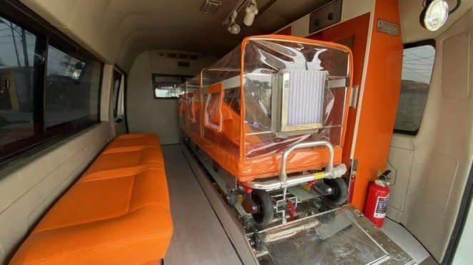 Ilustrasi kabin ambulans DFSK