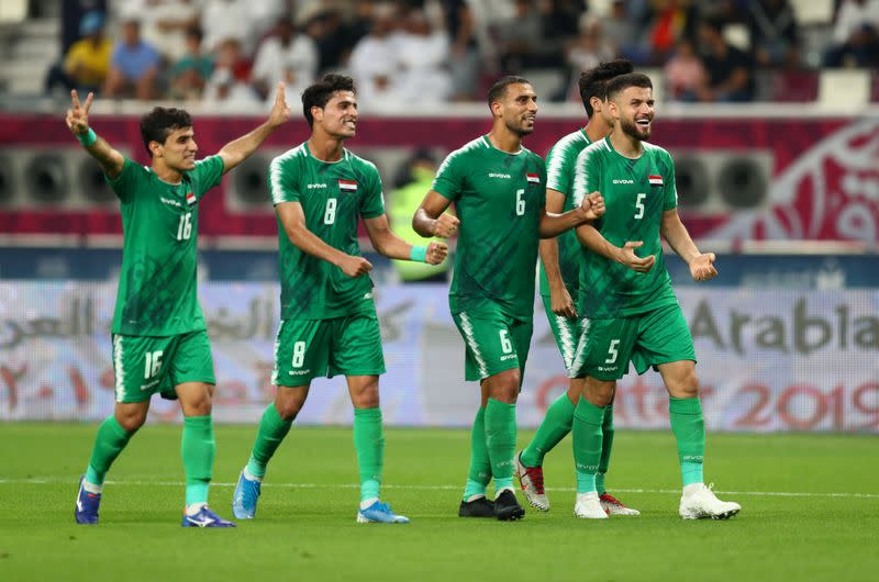 Iraq beat UAE 2-0 to reach Gulf Cup semi-finals