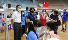 台東高中職以下教職員教師專案疫苗施打 饒慶鈴:讓學校有健康安全學習環境
