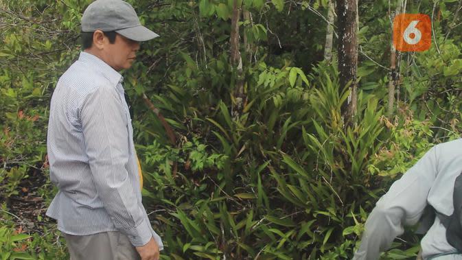 Di Solon Pinang Abang, anggrek tumbuh liar dan sangat lebat. (Foto: Abdul Jalil)
