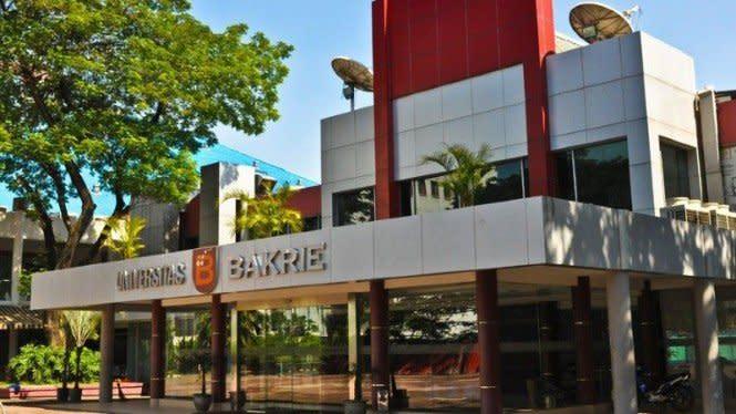 50 Universitas Swasta Terbaik di DKI, Universitas Bakrie Nomor 18
