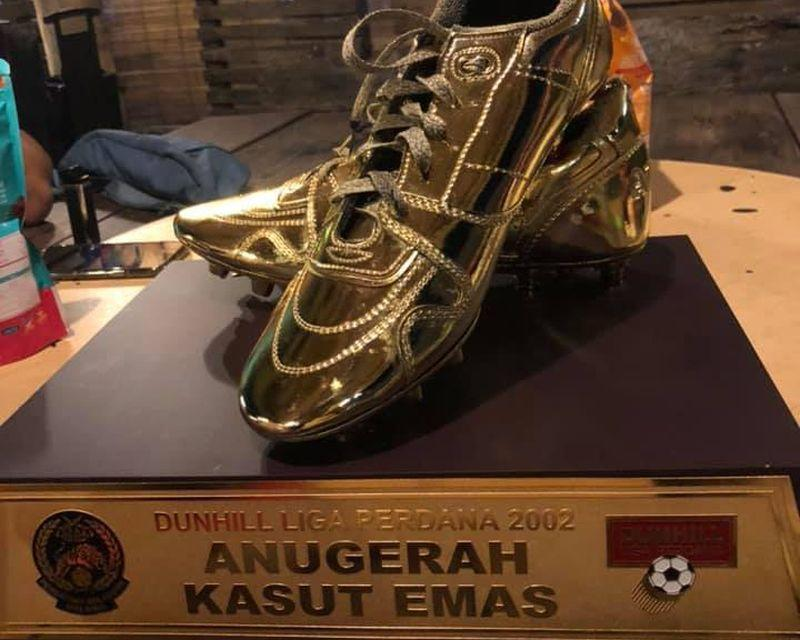 Khalid Jamlus won the Golden Boot 18 years ago. — Picture via Facebook