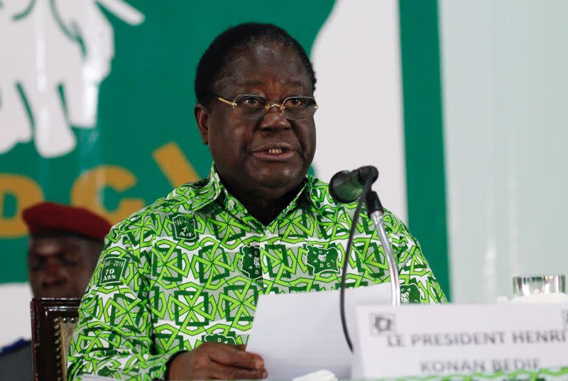 Ivory Coast ex-president Bedie says he will run in 2020 election